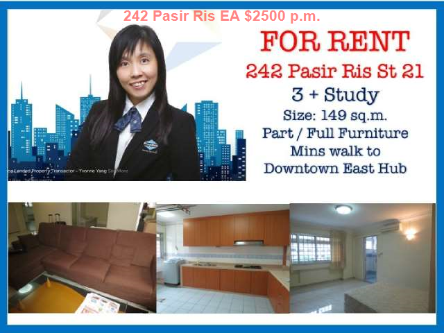 4 Bedrooms Executive Apartment For Rent In Pasir Ris