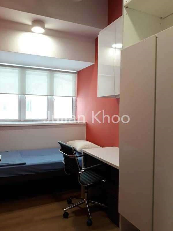 Mdis Study Room: 1 Bedroom Hi-Rise Apartment For Rent In