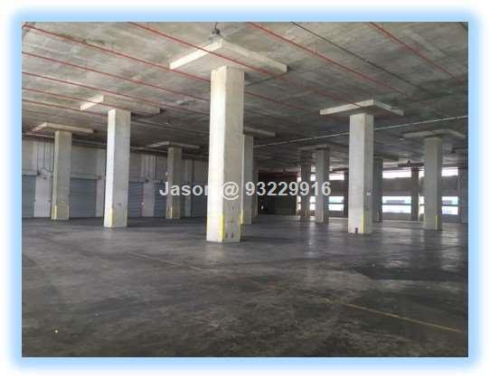 Warehouse  Jalan Buroh  Ceiling 9m  Loading Bays 