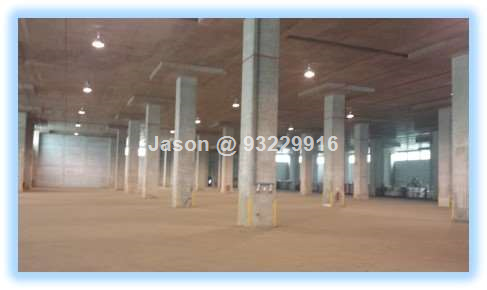 Warehouse  Tampines   Ramp Up  Ceiling 9m 