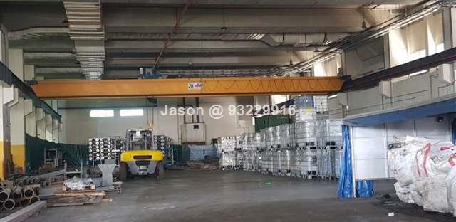| Workshop | High Ceiling | 20 Tons Crane |Tanjong