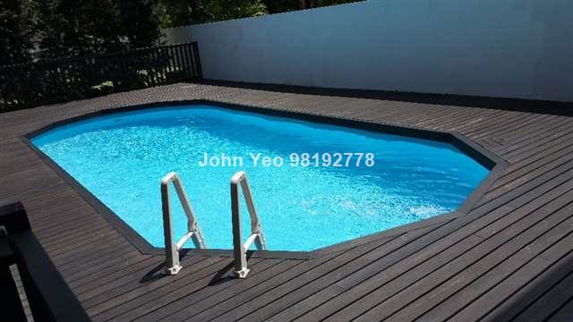 Thiam Siew Avenue Modern House with pool