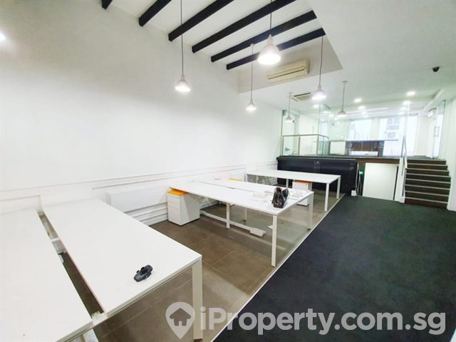 Shop House Neil Road walk to MRT NO GST Full Commercial