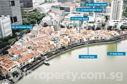 Shophouse Near Clarke Quay MRT Full Commercial with Entertainment License for Sale