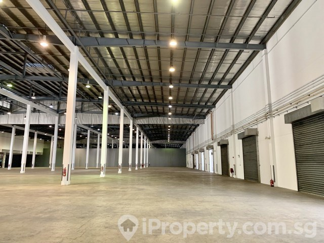 Tuas View Link Ground Floor High Ceiling Direct Access to loading dock levelers