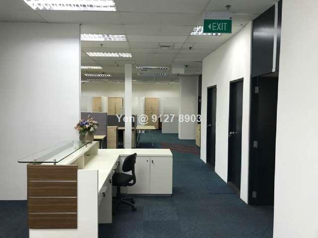 Fitted CBD office. Maxwell House. Tg Pagar MRT