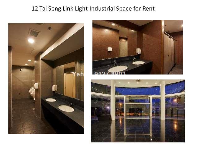 Clean & light industrial for rent, Tai Seng MRT