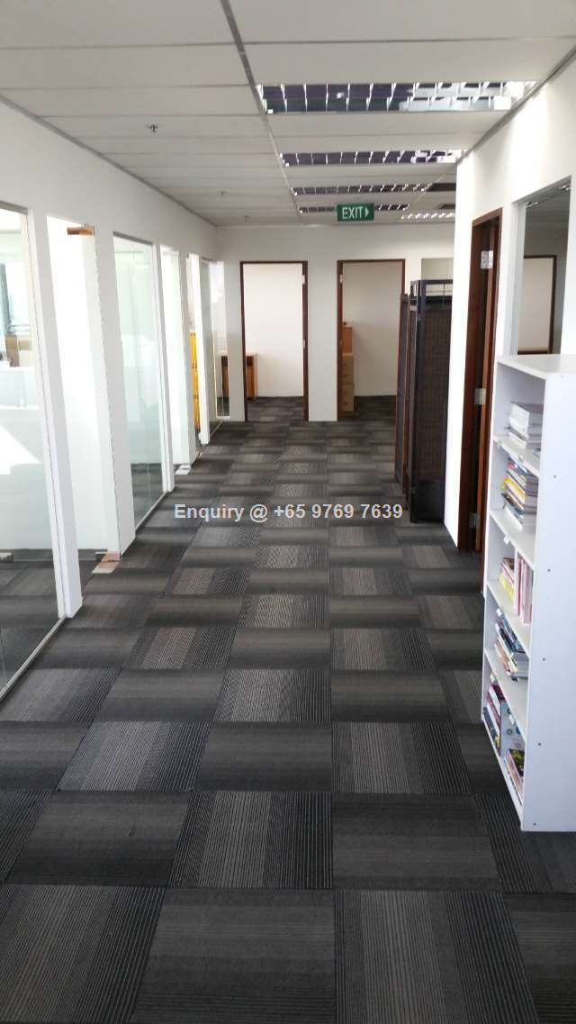 Fitted Office @ Bugis l Open View