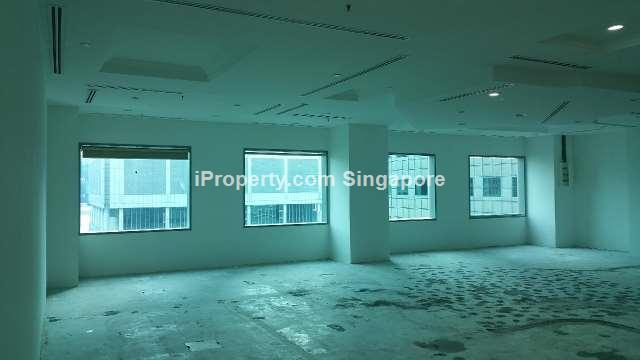 Suntec Office - Near Lift Lobby, Unblocked Greenery View