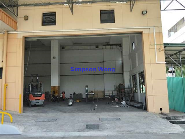 Landed Factory c/w Opened Yard for Rent at Tuas
