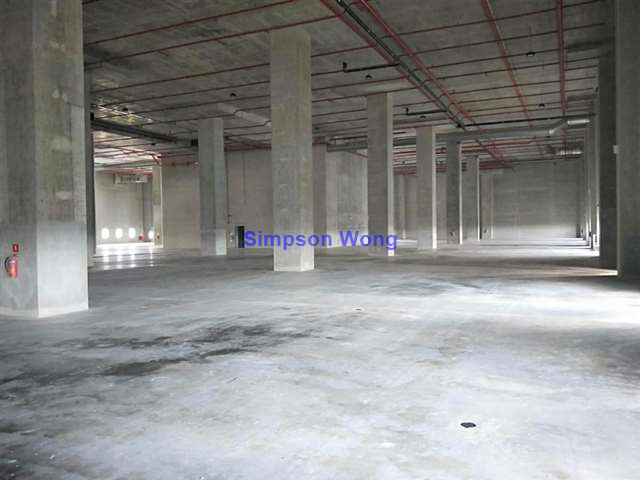 High Ceiling Food Factory Space for Rent at Tuas