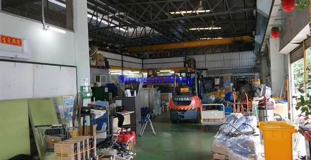 Landed Factory c/w Office & 5 Tons Overhead Crane