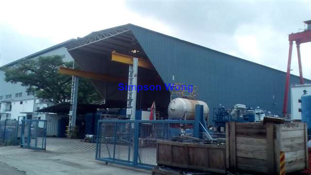 Workshop c/w Overhead Cranes for Rent at Gul