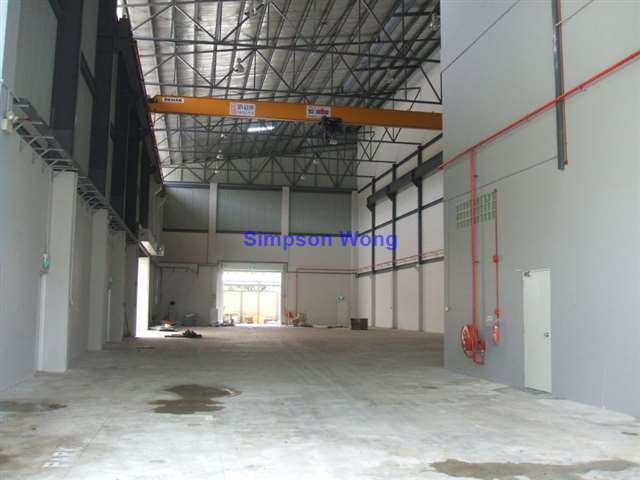 Semi-D Unit with Workshop/Office for Rent At Tuas