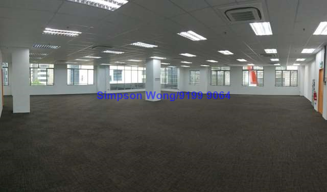 B1 Partial Fitted Unit for Rent at Jalan Kilang