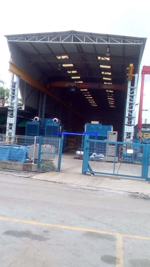 Workshop c/w 2 No Overhead Cranes for Rent at Gul