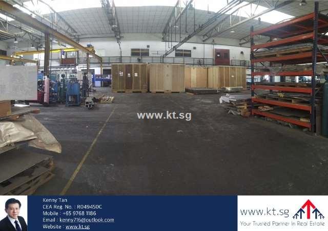 Tuas South Factory, Cranes, Corp Image