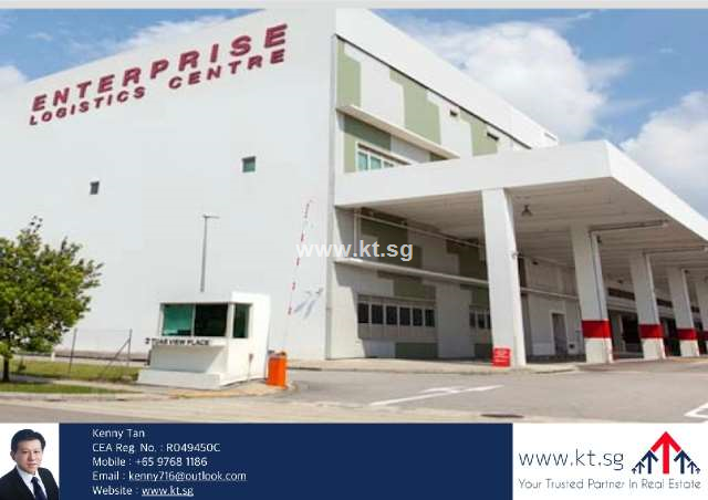 Tuas Factory and Warehouse - Loading Bays