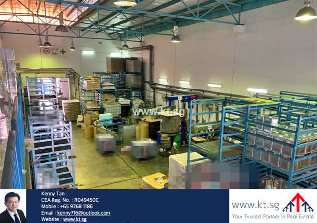 Tuas B2 / Chemical Factory with Long Lease
