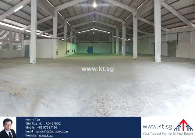 Jurong Factory with Large Open Yard