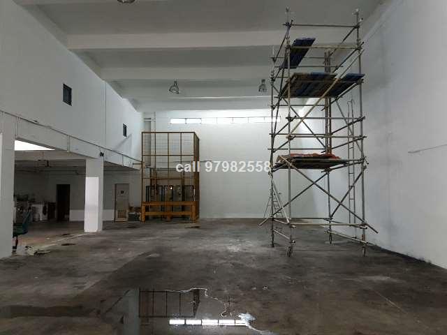 Tuas Single Storey Column Free Factory for RENT