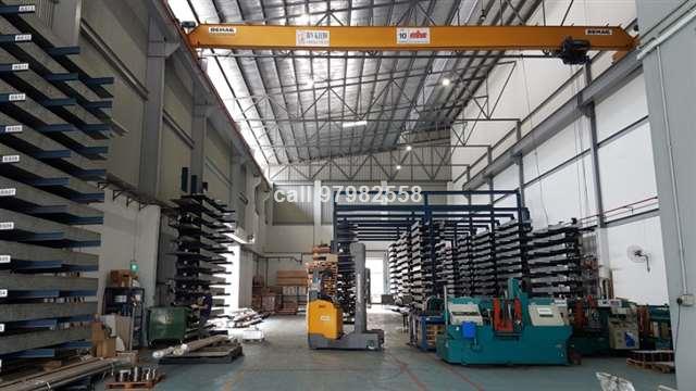 Rare URA Factory with 10T Crane-12m Ceiling Height