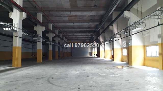 Jurong High Ceiling Warehouse cum Factory