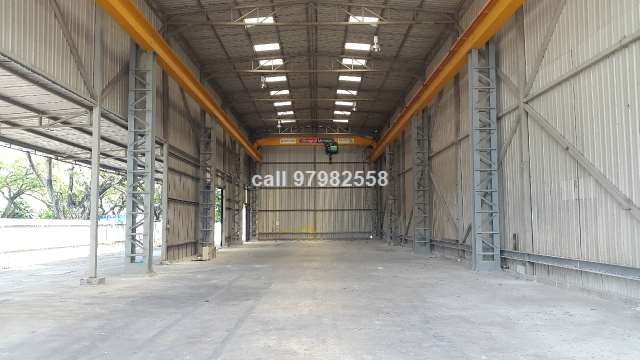 Pioneer Single Storey Factory with Crane for RENT