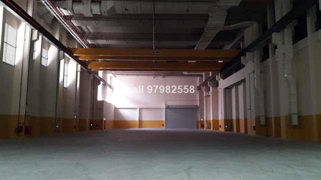 Jurong 15m High Ceiling Factory with 20 Ton Crane