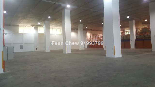Modern warehouse with exclusive loading
