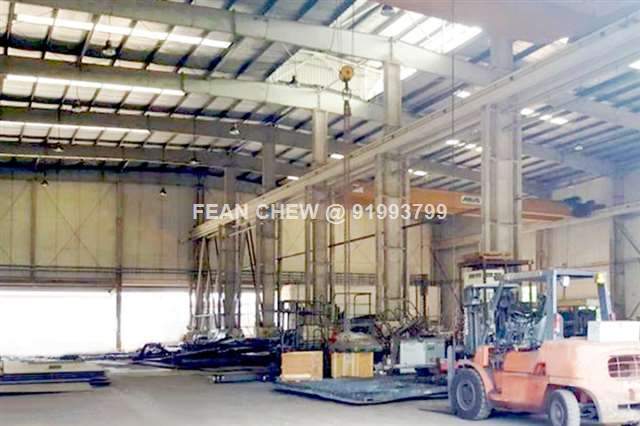 Jurong B2 Factory With Multiple Overhead Cranes
