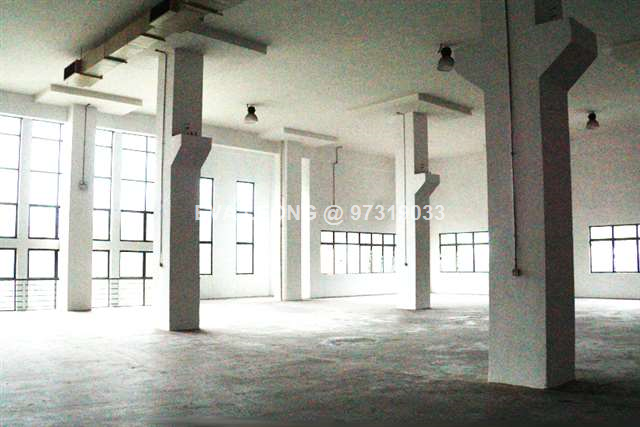 Rare JTC Factory With Huge Open Yard