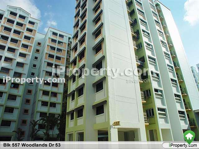 Woodlands, Blk 557