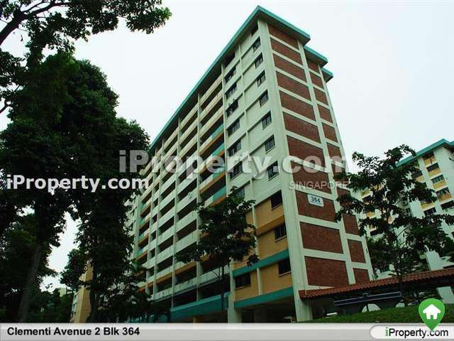 1 Bedroom 3 Rooms Hdb Flat For Rent In Clementi