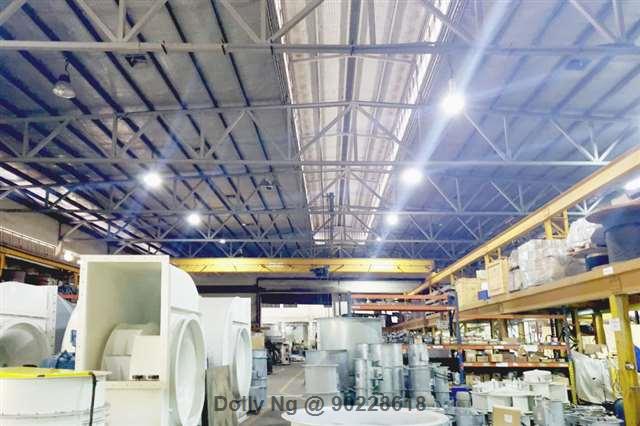 40k sqft.Detached Factory Beside MRT Station