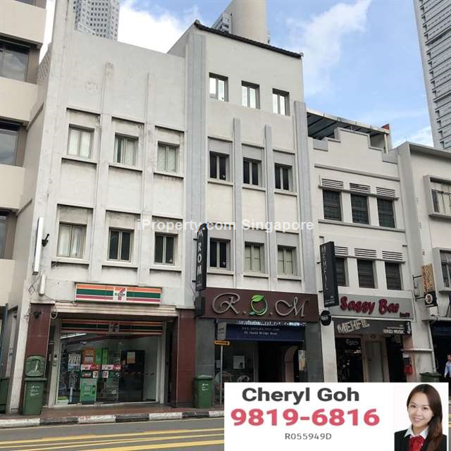 South Bridge Road 999 years Shophouse For Sale