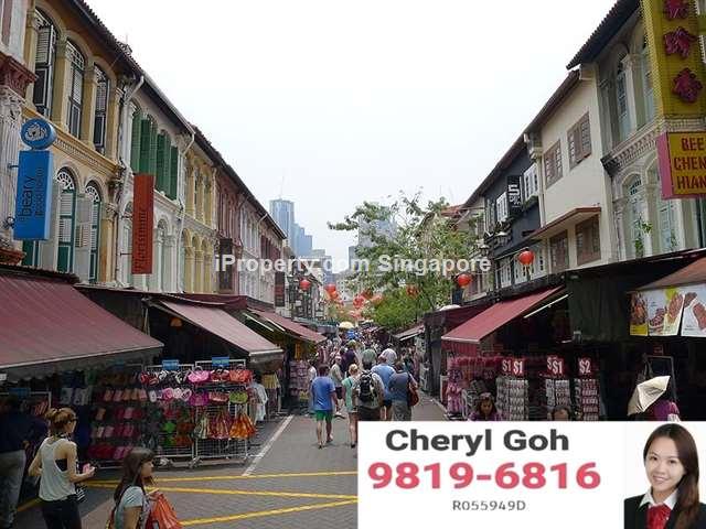 Chinatown Pagoda Street Restaurant