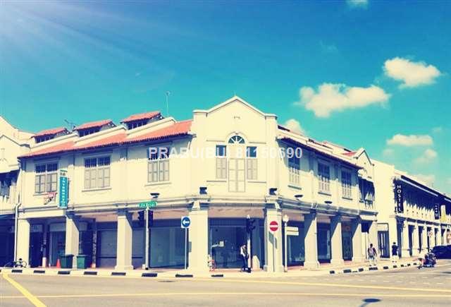 4 Adjoining Corner Freehold Shophouse