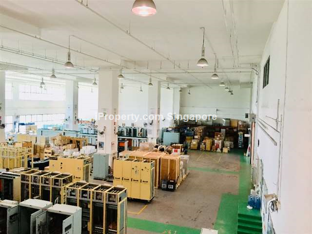 Pioneer 8 meter Factory with large Roller Shutter