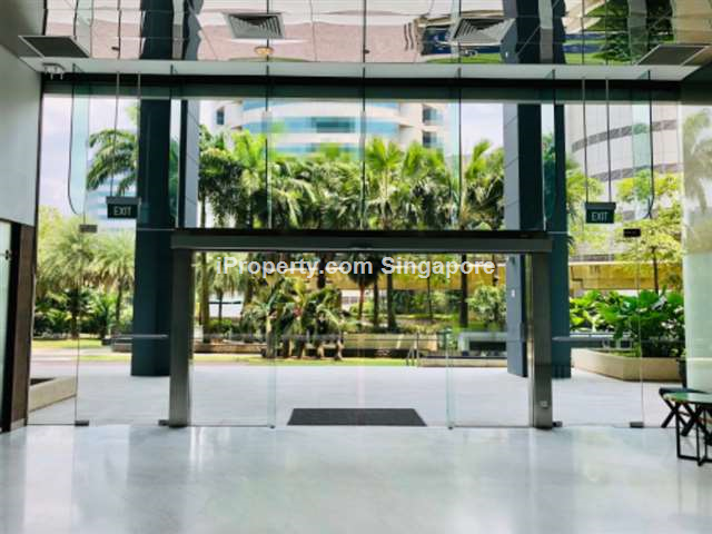 Ground floor with Lobby Frontage, MRT