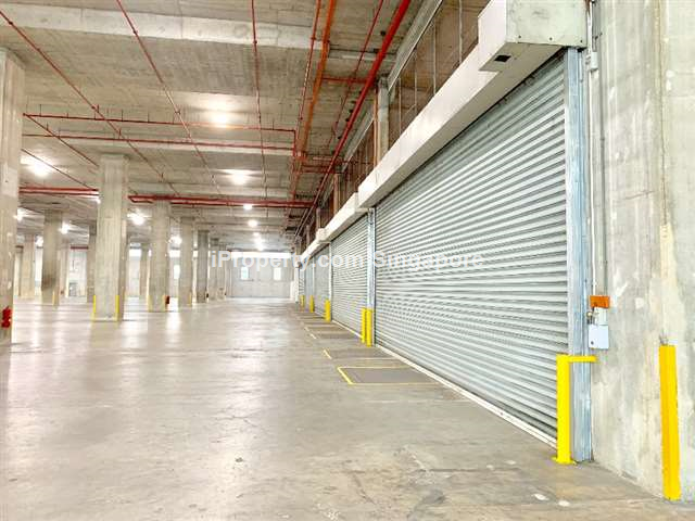 West Coast Hi Spec Warehouse Single floorplate