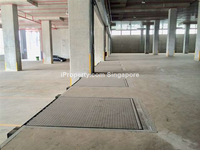 Pioneer 50kN/sqm Ground floor warehouse