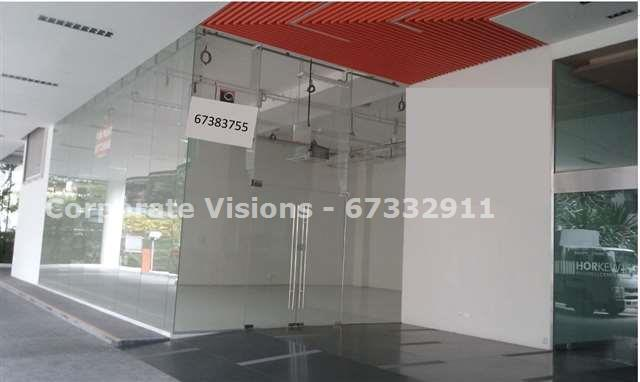 Ground floor showroom for rent at Kallang Pudding