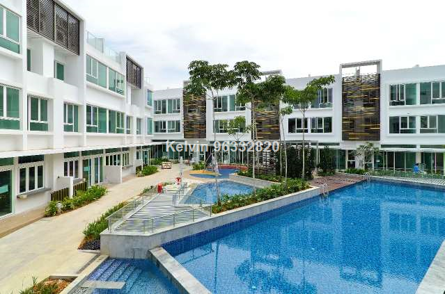 Cabana Landed housing with resort facilities