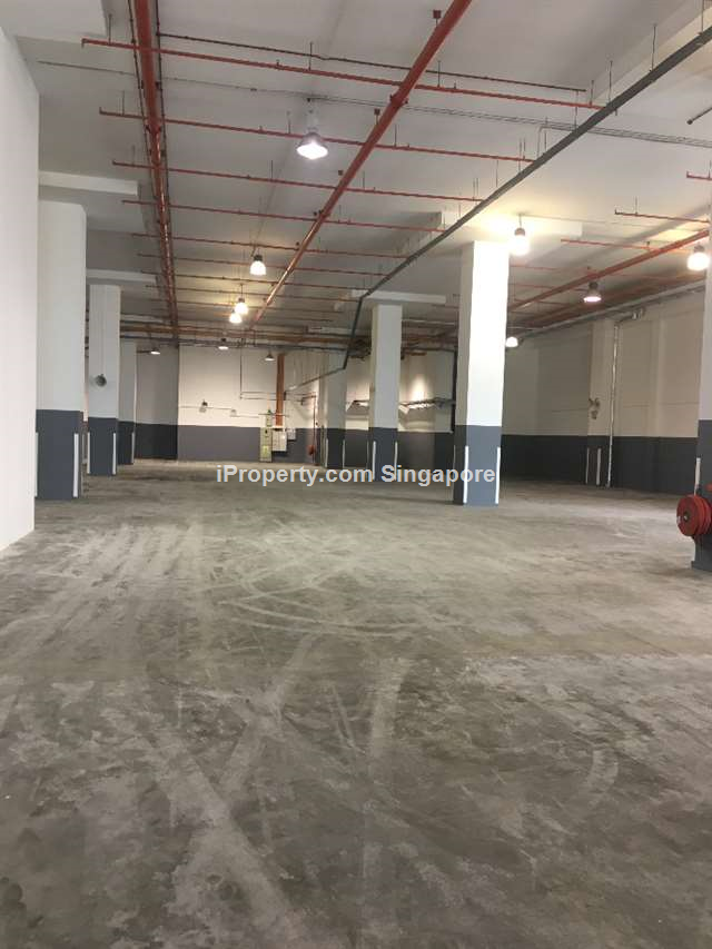 Tuas West Road Warehouse Ramp-up