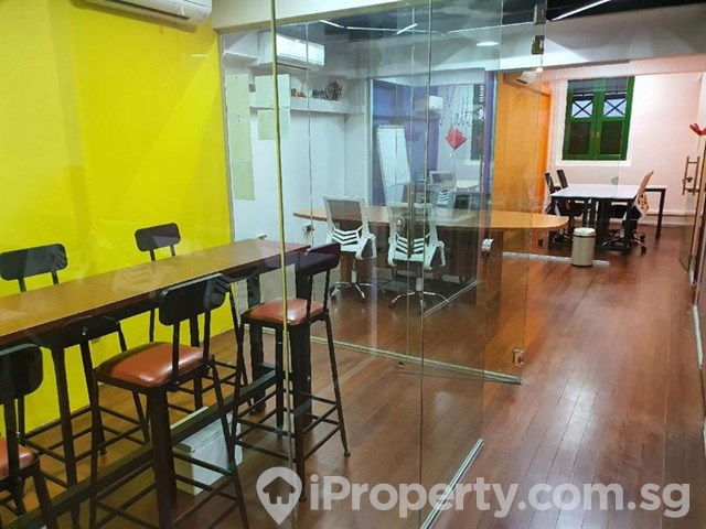 Newly Fitted Shophouse Office in Jalan Besar for Rent